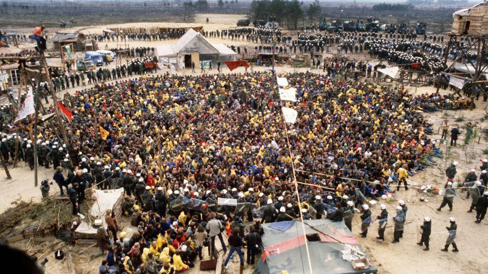 Proteste unter der Atomkraft-Sonne: Gorleben, Brokdorf, Wyhl