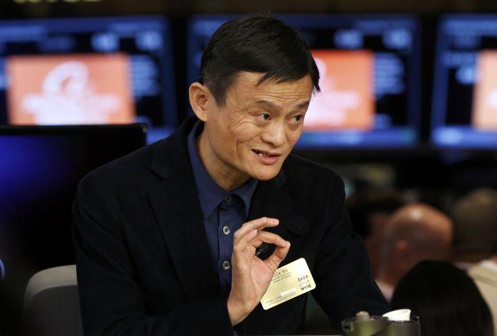 """Alibaba-Chef Ma an der NYSE: """"Ich will die Shareholder glücklich machen"""""""