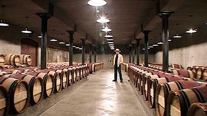Wein-Lager in Kalifornien: Vorliebe für breiten und plakativen Geschmack