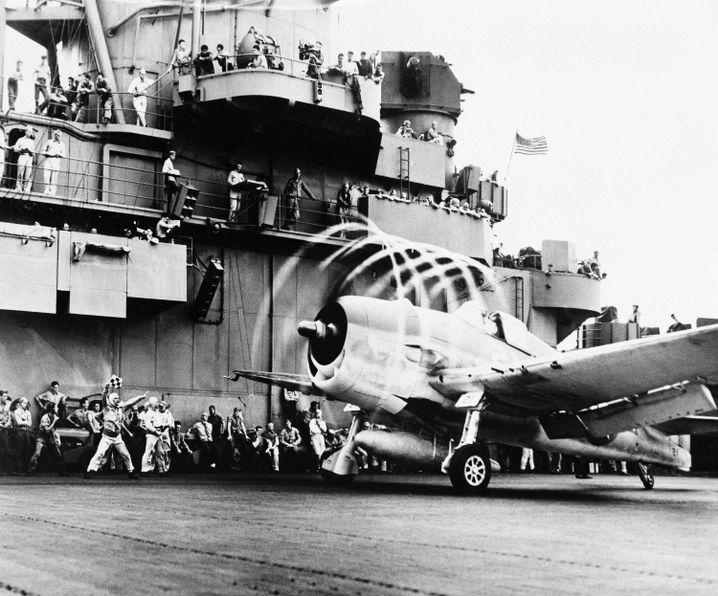 """""""Lost Patrol"""": Während des Flugs gingen 79 Hellcats gingen verloren"""