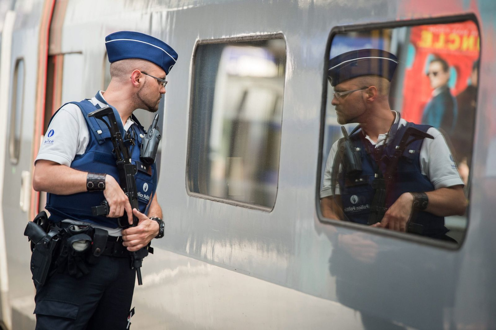 Reinforced security level for the Thalys in Brussels Midi Station