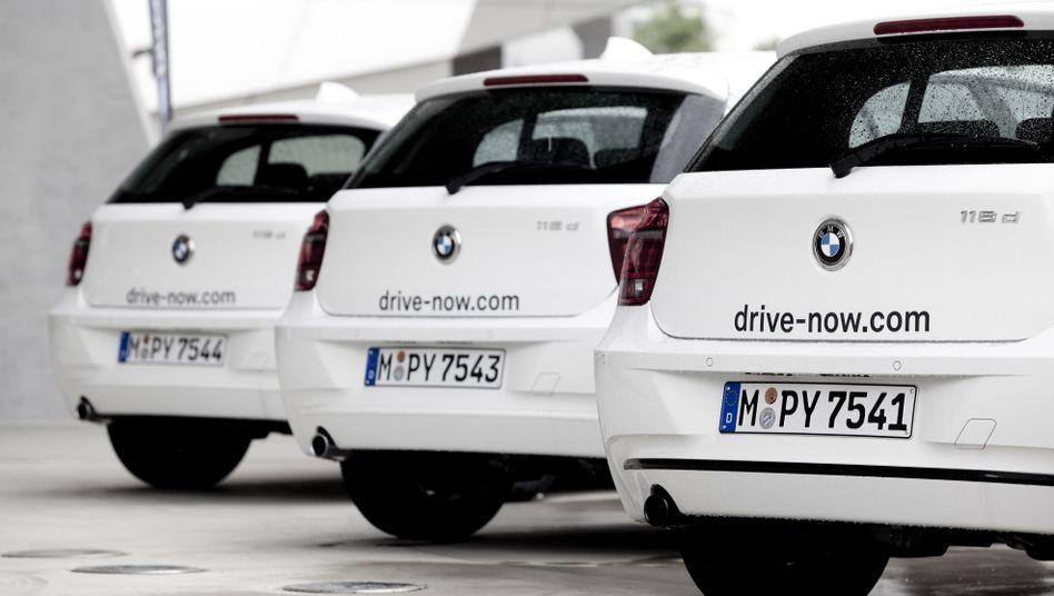 DriveNow-Flotte: Jeder sechste Kunde nutzt das Angebot bereits beruflich