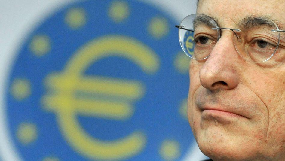 """EZB-Präsident Mario Draghi: """"Glauben Sie mir - das wird reichen"""""""