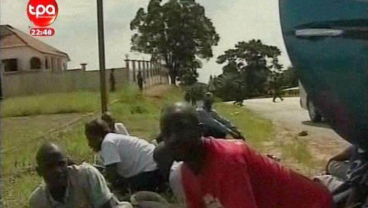 Überfall bei Afrika-Cup: Togos Nationalelf beschossen
