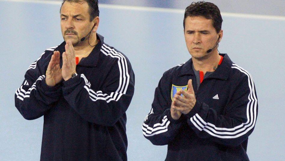 """Schiedsrichtergespann Lemme (r.) und Ullrich: """"Die Strafe ist abgesessen"""""""