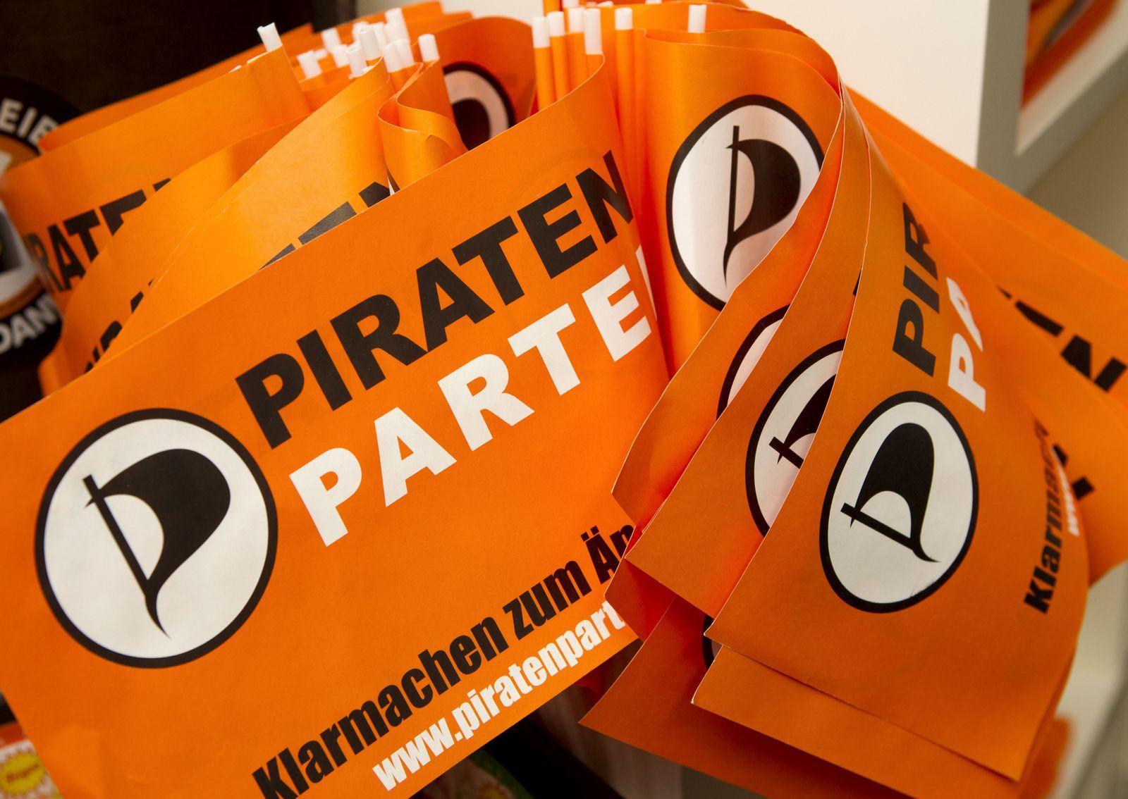 NICHT VERWENDEN Piraten / Fahnen