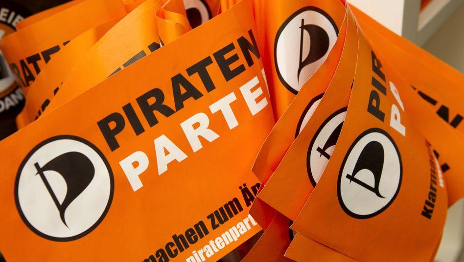 """Piraten-Fähnchen: """"Bis die etablierten Parteien aufwachen"""""""