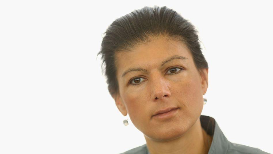 Linksfraktion-Vorsitzende Sahra Wagenknecht