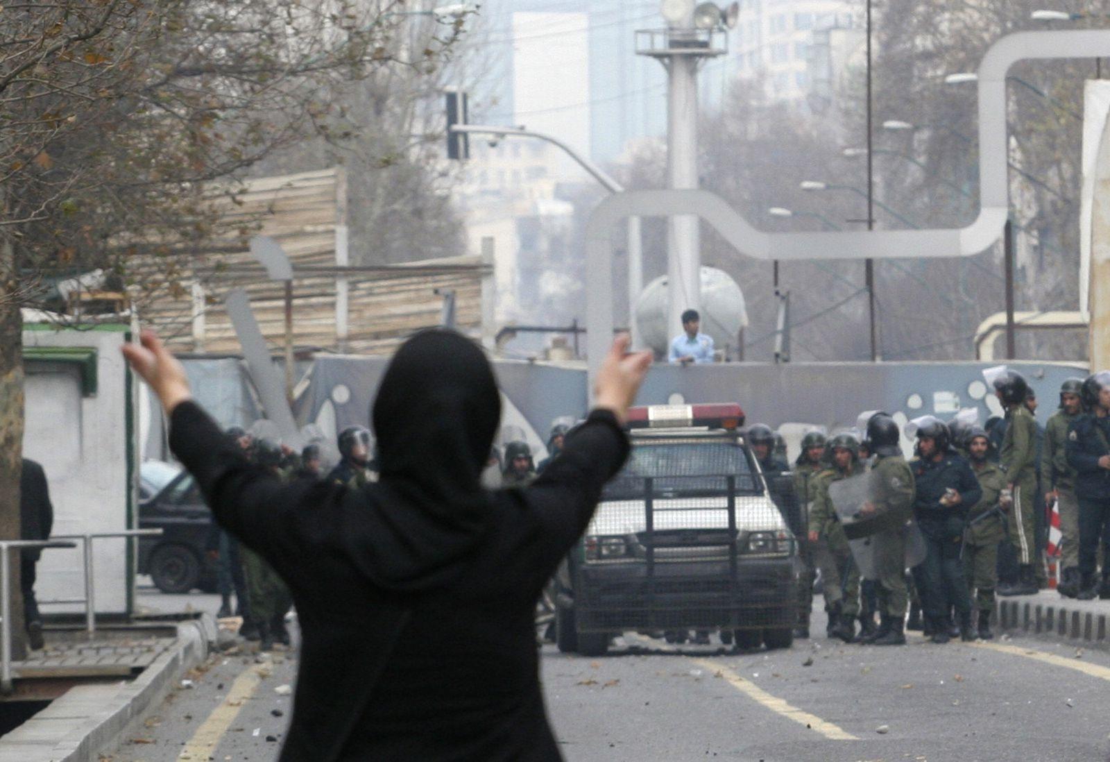 Iran / Teheran / Demonstration