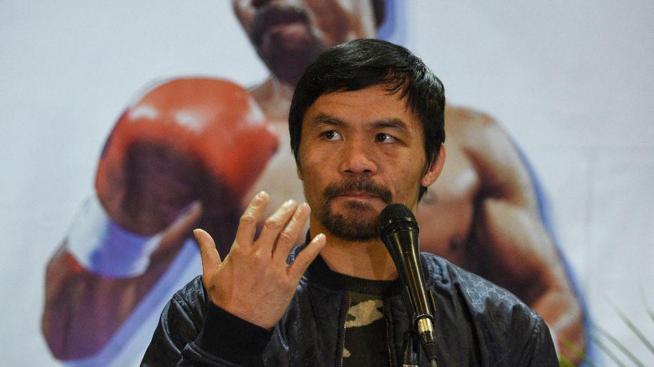 Vom Boxring in den politischen Kampf: Manny Pacquiao (2019)