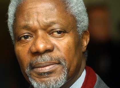 Kofi Annan: Zu wenig Zeit für zu viel Geld