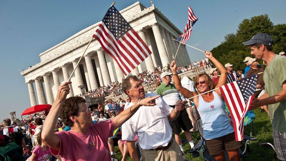 Demo in Washington: US-Rechte gegen Obama
