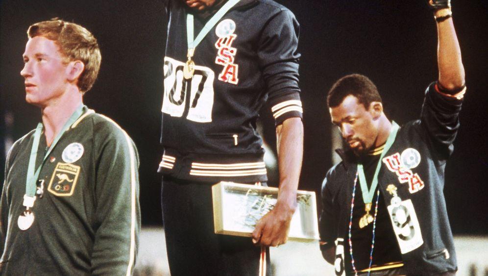 Olympia 1968: Der Dritte im Bild