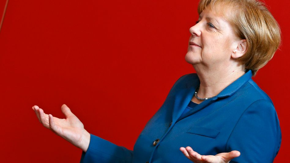 Angela Merkel at the recent EU summit on Dec. 19 in Brussels: The chancellor has become bogged down in her attempt to lead the Europe.