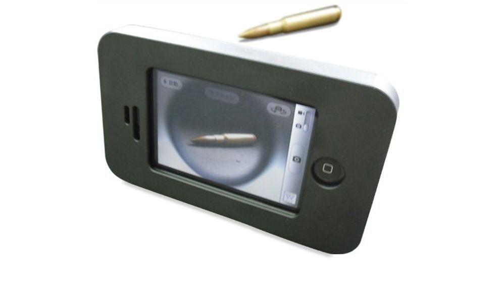 Mit Stahl gepanzert: Das kugelsichere iPhone-Case