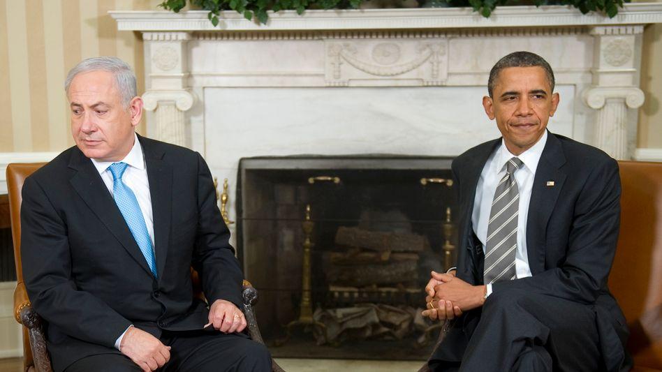 """Netanjahu (l.) und Obama: """"Wir Europäer müssen ein Zeichen setzen"""""""