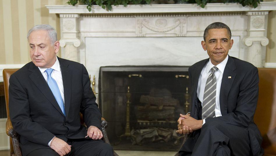Netanjahu, Obama im Weißen Haus in Washington: Den Konflikt managen, nicht lösen