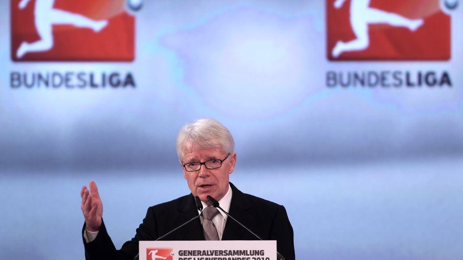 Ligapräsident Rauball: Fifa-Boss Josef Blatter zum Rücktritt aufgefordert