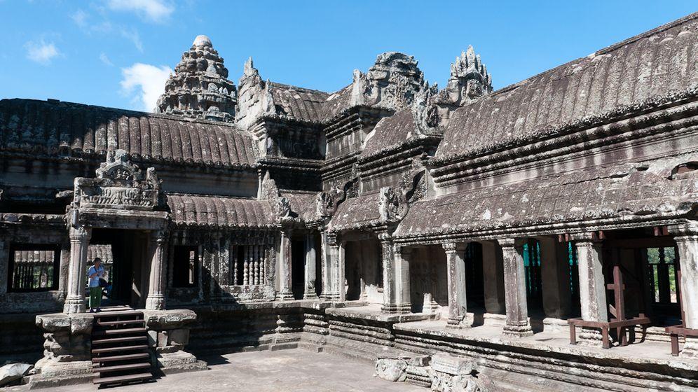 Digitale Bildbearbeitung: Neue Wandzeichnungen in Angkor Wat gefunden