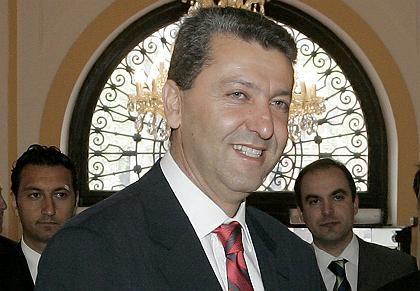 Cypriot Foreign Minister Yiorgos Lillikas.