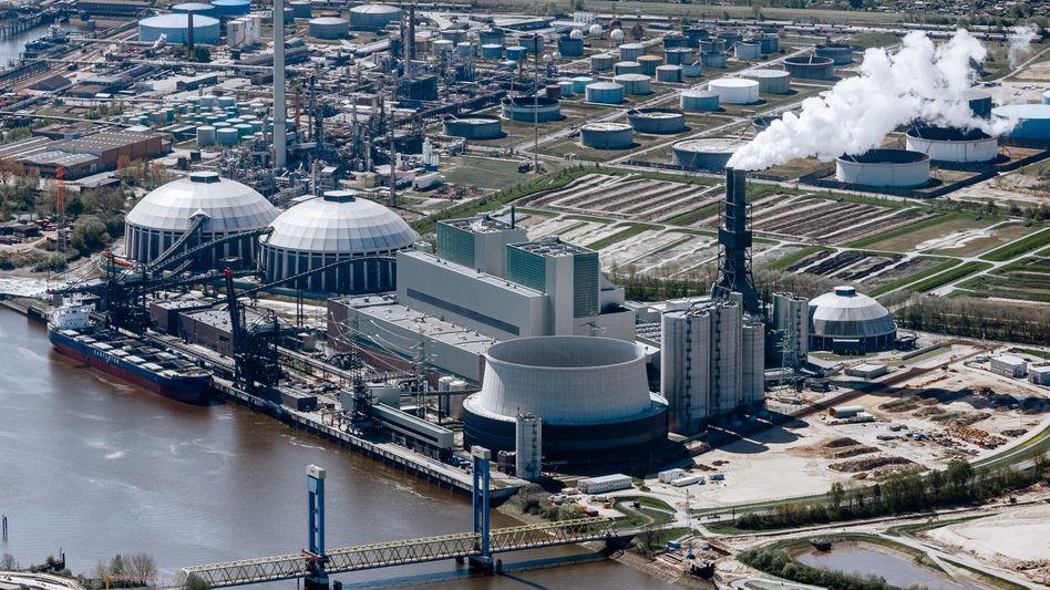 Kohlekraftwerk Moorburg an der Elbe: Schon immer ein Zankapfel