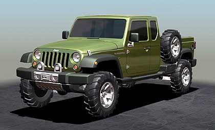 Jeep Gladiator: Ausblick auf die kommende Wrangler-Generation