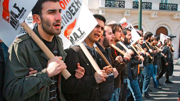Die Wut der Straße: Proteste in Griechenland