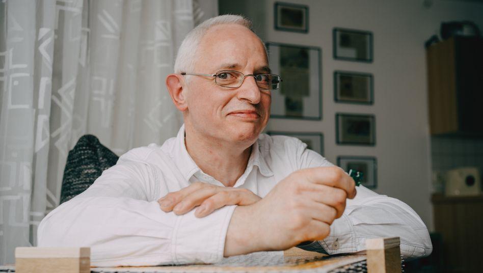 »Puzzlekönig« Peter Schubert
