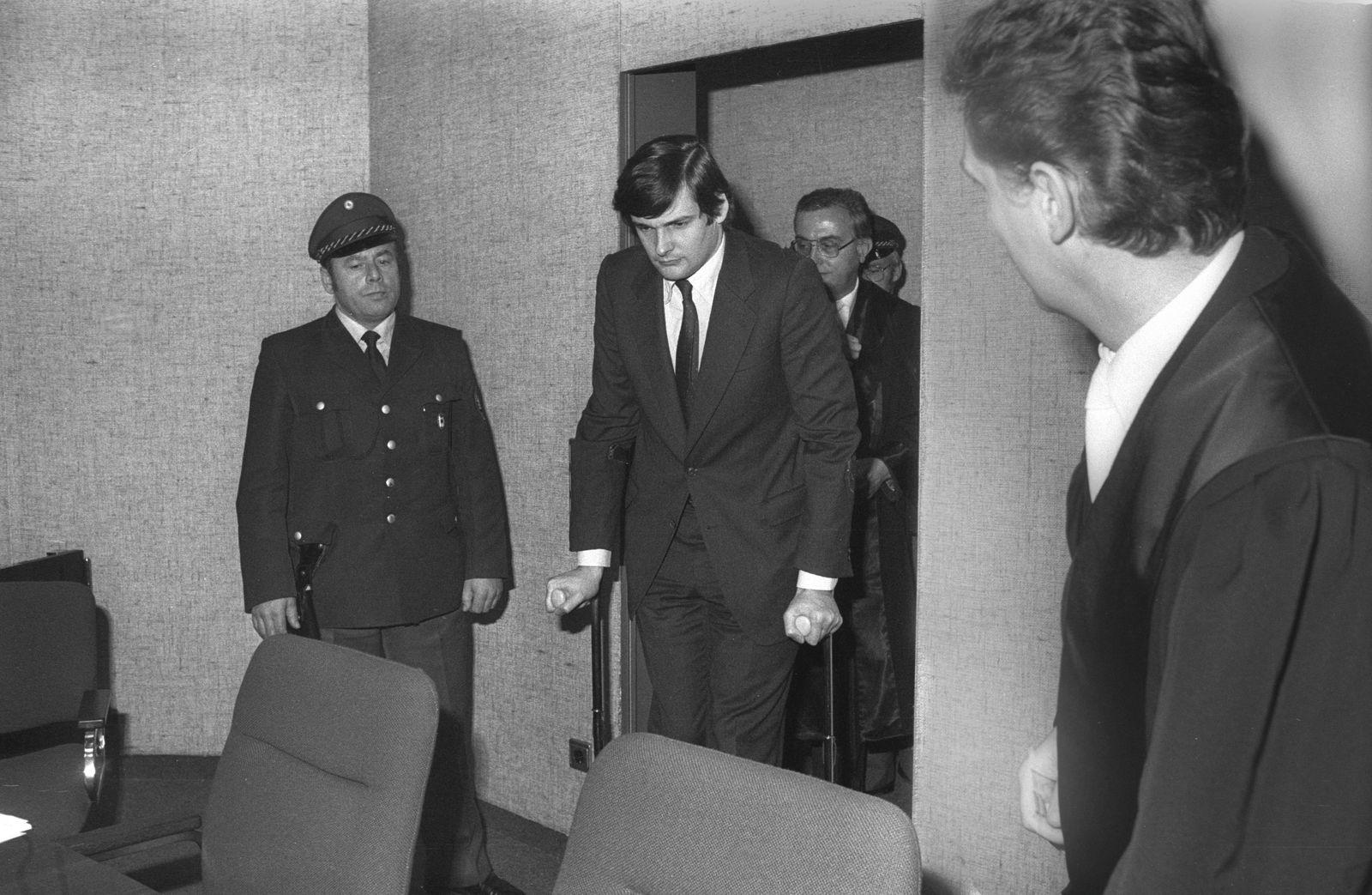 Entführung Richard Oetker am 14. Dezember 1976 in Weihenstephan von Dieter Olof Prozess Mai 1980 in München Vorsitzende