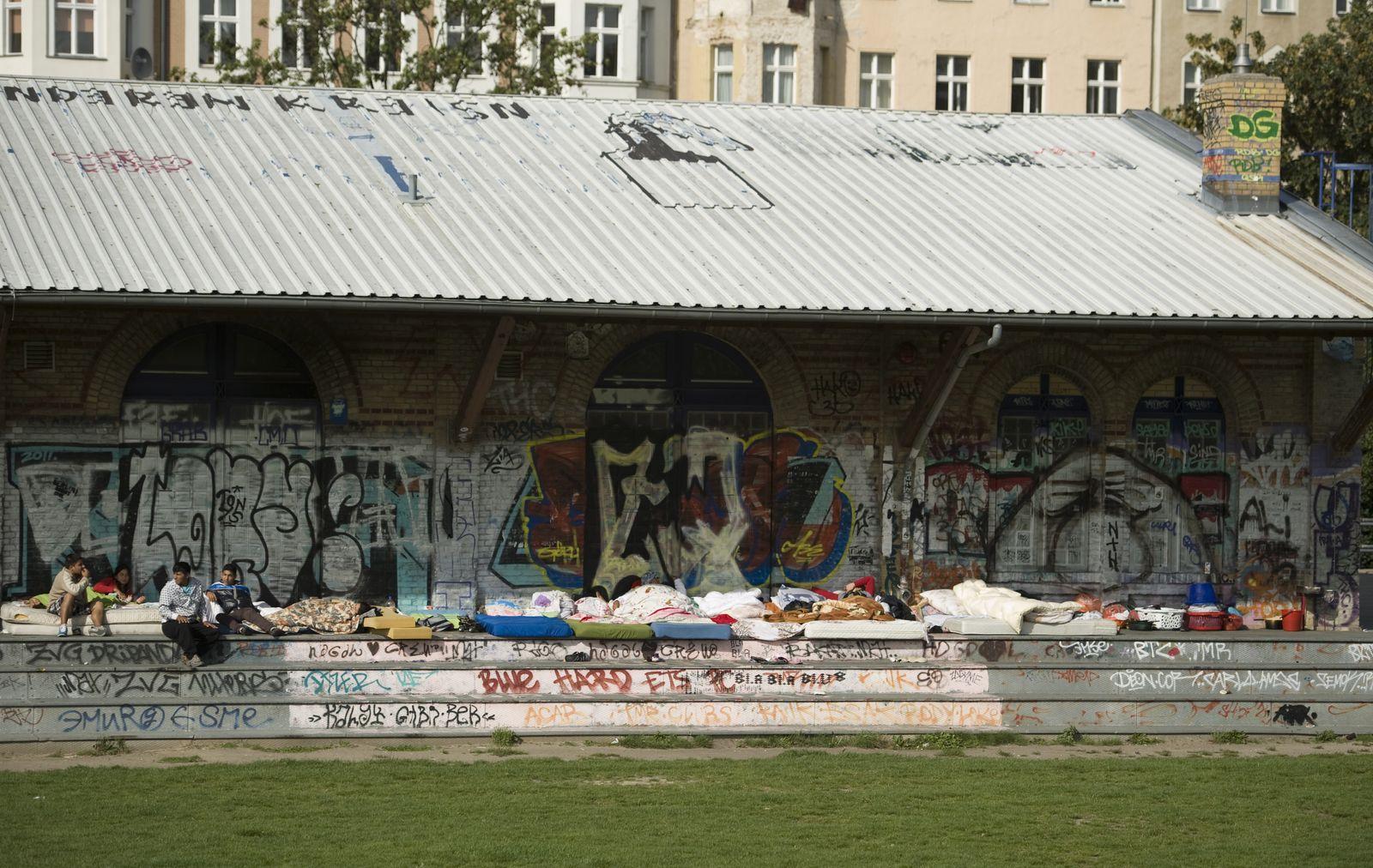 NICHT VERWENDEN Goerlitzer Park/ Roma/ Sinti