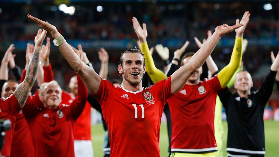 Gareth Bale bei der EM 2016 (in Lille): Sensationell mit Wales im Halbfinale