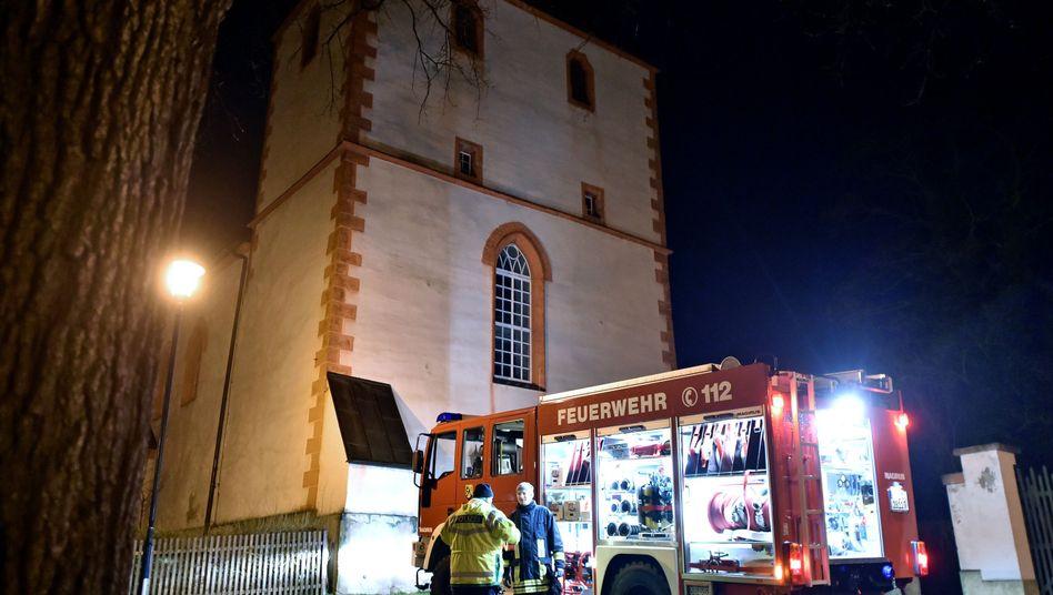Einsatz in der Wiprechtkirche in Eula: Feuer in der Sakristei