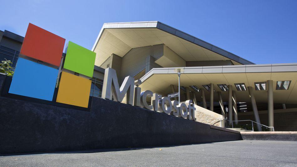 Microsoft-Zentrale in Redmond (USA): Unter Druck geraten