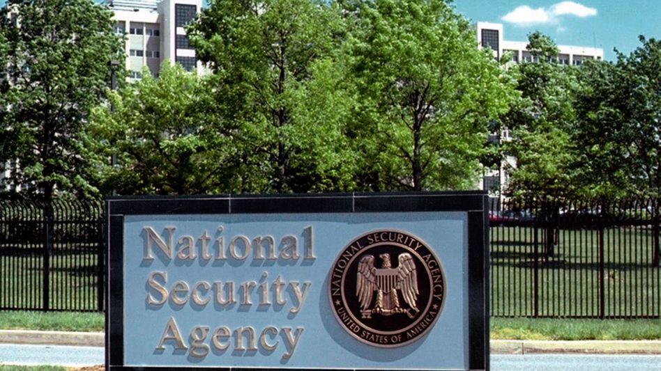 Eingang zur NSA-Zentrale: Millionenfach Brasilianer belauscht