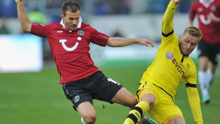 BVB vs. Hannover: Diouf trifft spät zum Ausgleich