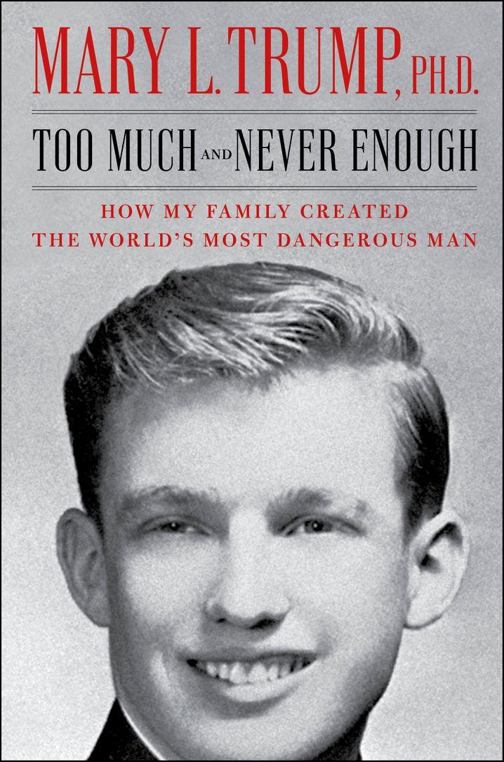 """Cover des noch unveröffentlichten Buchs: """"Zu viel und nie genug - Wie meine Familie den gefährlichsten Mann der Welt geschaffen hat"""""""