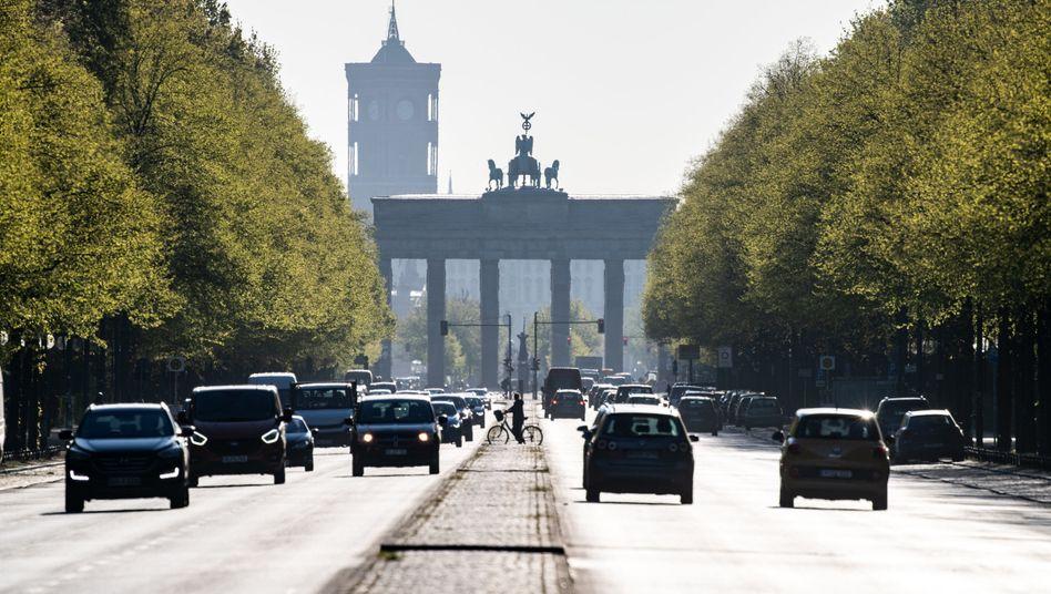 Morgenstimmung in Berlin: Schwerste Rezession der Nachkriegszeit