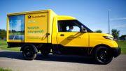 Deutsche Post verkauft 200 Elektrotransporter an britische Milchmänner
