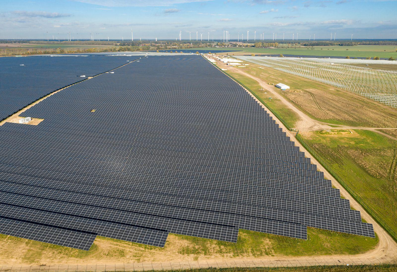 Deutschlands größter Solarpark