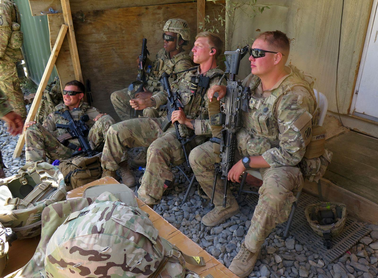 USA-AFGHANISTAN/TALKS