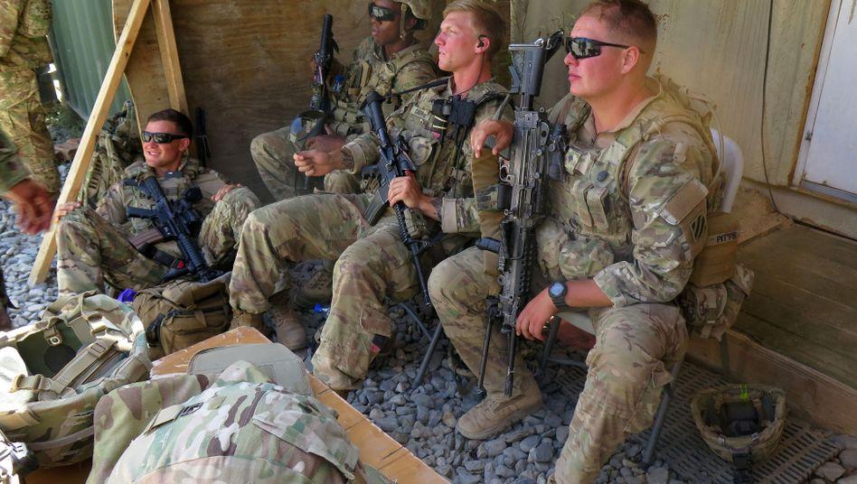 USA wollen auch künftig Soldaten in Afghanistan stationieren