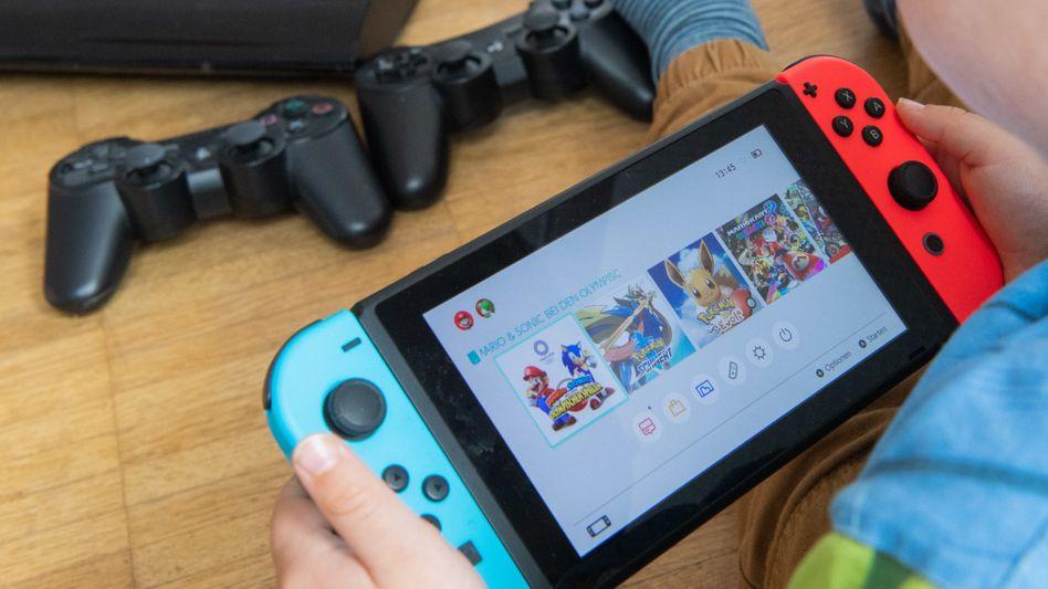 Nintendos Konsole Switch: Fürs Einkaufen im Online-Store wird ein Nintendo-Account benötigt