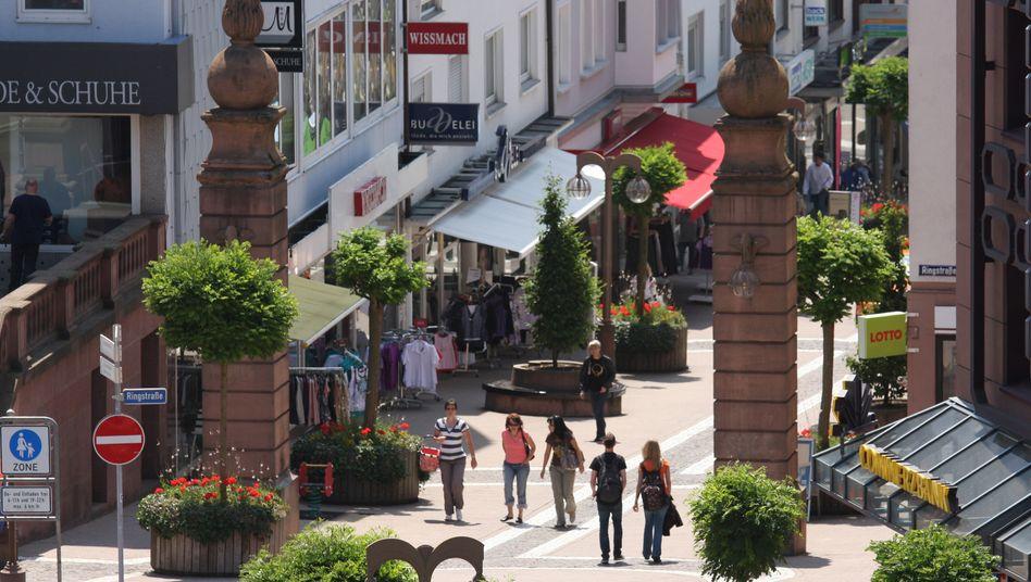 Fußgängerzone in Pirmasens: »Sagen wir mal so: Ich würde mir mehr Kommunikation wünschen«
