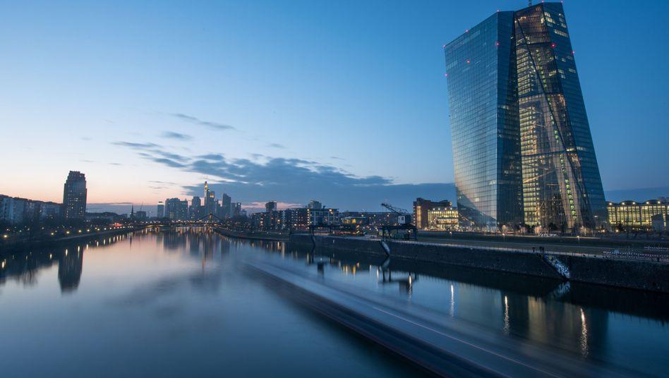 EZB-Zentrale in Frankfurt am Main: Planspiele für den Grexit