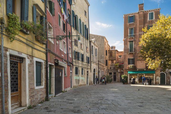 Campo Ghetto Nuovo: Stiller Platz zwischen Synagogen