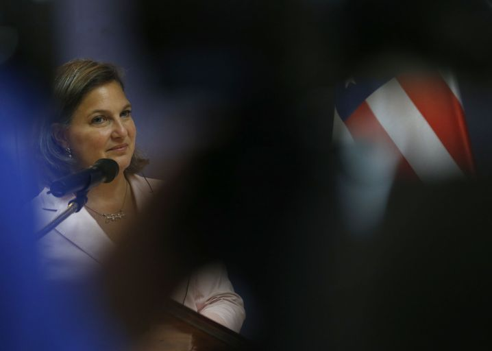 US diplomat Victoria Nuland: Paving the way for weapons deliveries.