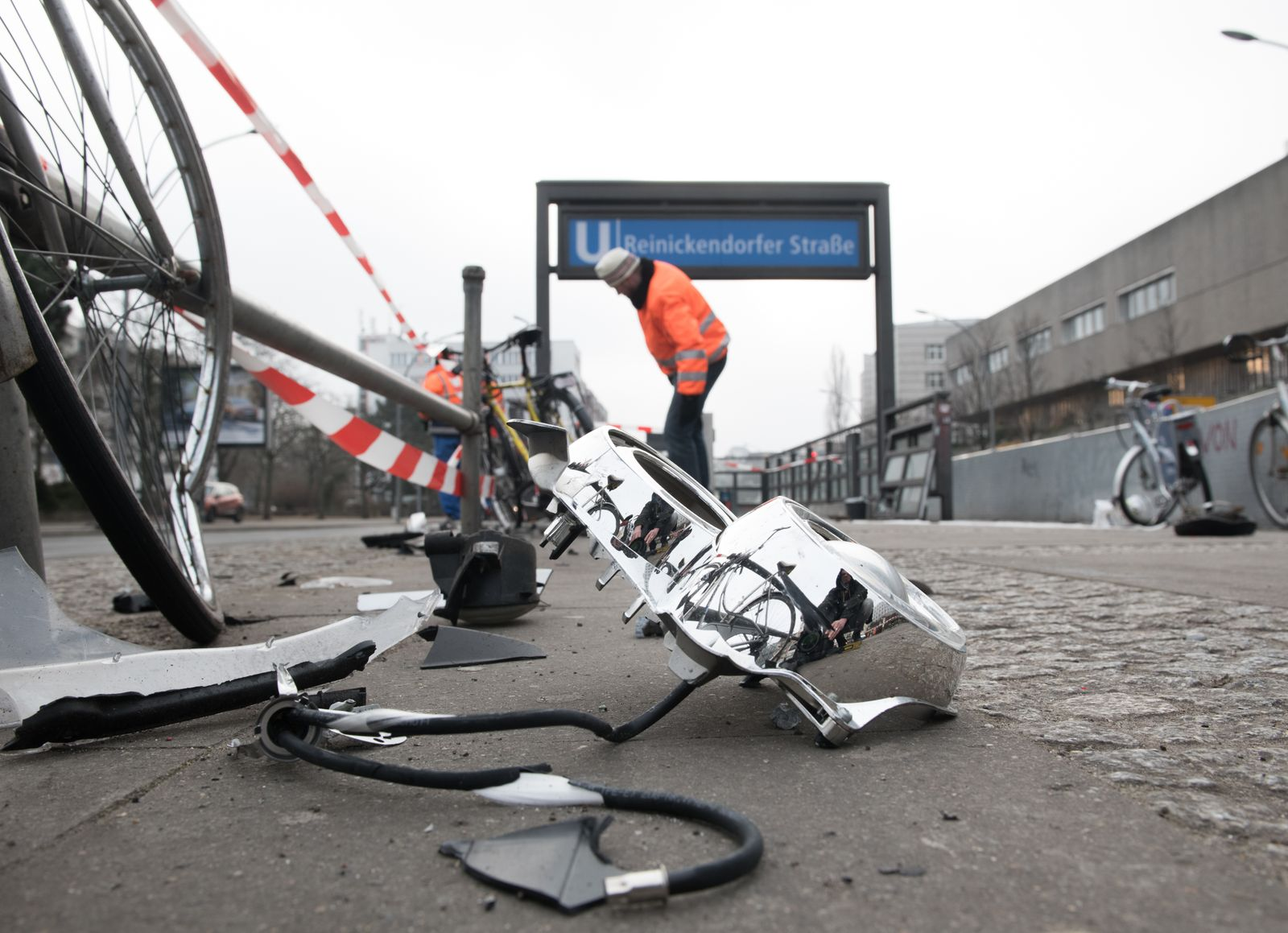 Schwerer Unfall an U-Bahnstation