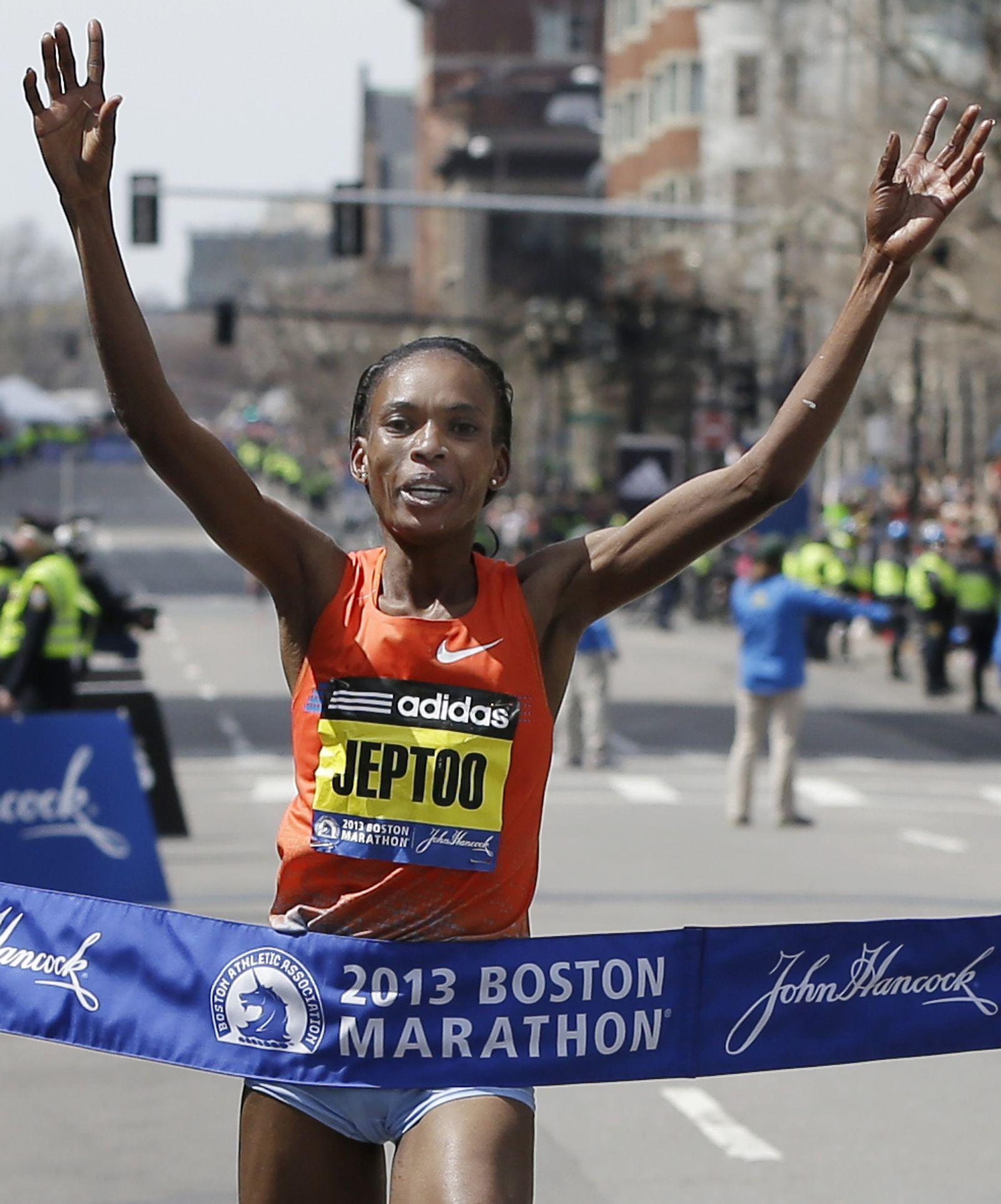Rita Jeptoo/ Boston Marathon