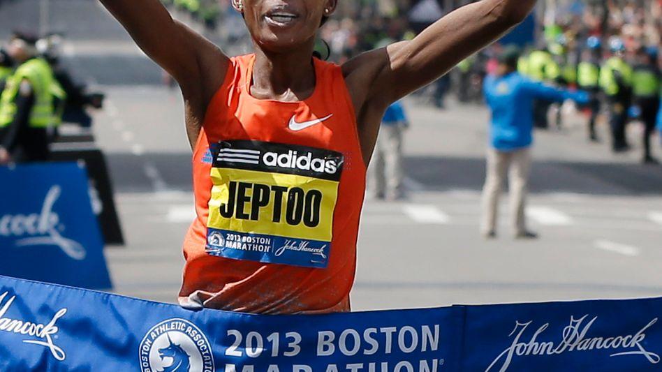 Marathonstar Jeptoo: Ihr droht die Aberkennung des WMM-Titels