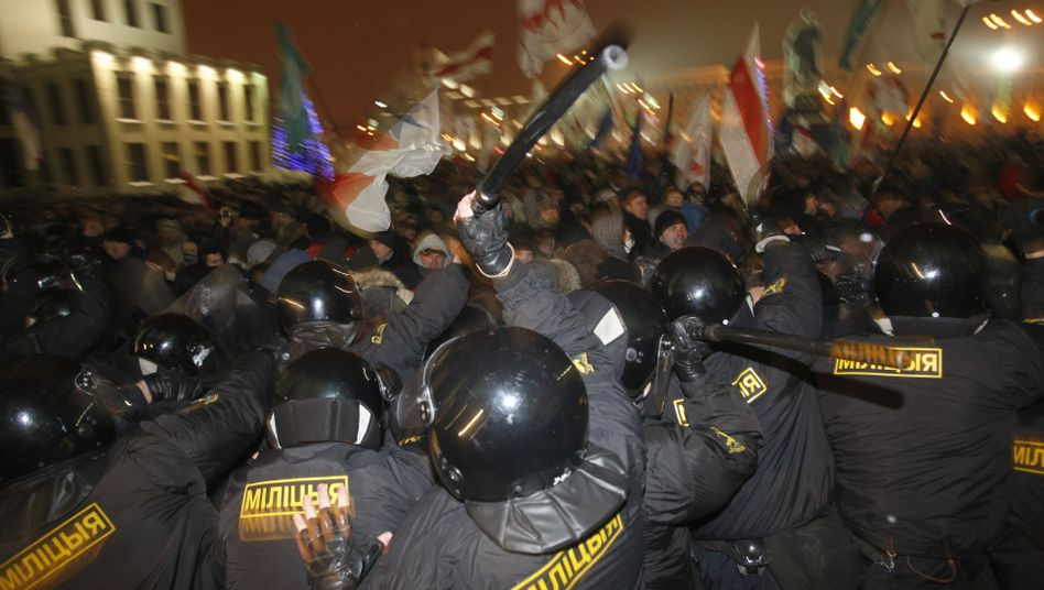 Einsatz gegen Demonstranten in Minsk: Kritik von Menschenrechtsorganisationen